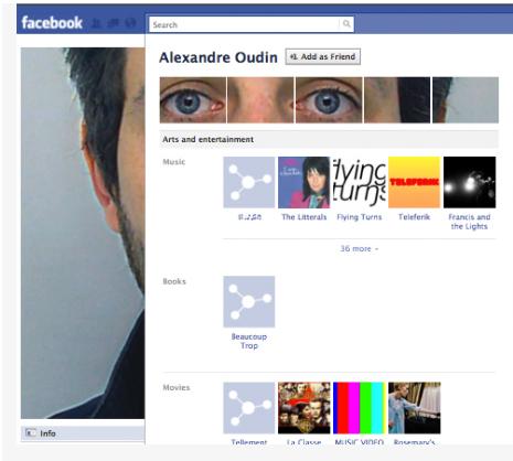 Creative Profile Screenshot